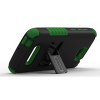 Alcatel One Touch Fierce 2 Beyond Cell Tri Shield Case - Black/Green - - alt view 2