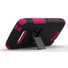 Alcatel One Touch Fierce 2 Beyond Cell Tri Shield Case - Black/Pink - - alt view 2