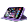 Apple iPhone 6/6s Beyond Cell Infolio Leather Case - Mint/Purple - - alt view 2
