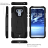 LG G6 Beyond Cell Shell Case Hyber 2 Series Case - Black/Black - - alt view 1