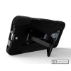 LG G6 Beyond Cell Shell Case Hyber 2 Series Case - Black/Black - - alt view 3
