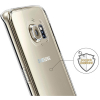 Samsung Galaxy S6 Edge Beyond Cell TriMax Series Case - Clear - - alt view 5