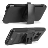 Samsung Galaxy S8 Beyond Cell Shell Case Armor Kombo with Kickstand - Black/Black - - alt view 3