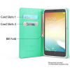 ZTE Blade Max 3 Beyond Cell Infolio C Series Leather Case - Mint/White - - alt view 1