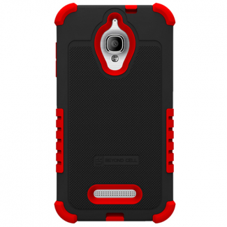 Alcatel One Touch Fierce Duo Shield - Black/Red