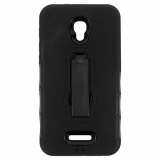 Alcatel Pop 4 Plus Kickster Series Case - Black/Black