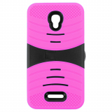 Alcatel Pop 4 Plus Kickster Series Case - Black/Pink