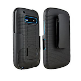 Alcatel Shockwave US Cellular Packaged Holster Shield Combo - Black