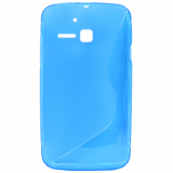 Alcatel M'Pop TPU Shield - Blue