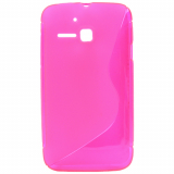 Alcatel M'Pop TPU Shield - Hot Pink