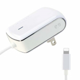 PureGear Apple Lightning 1 Amp AC Travel Charger - White