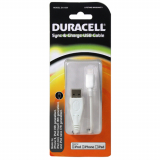 Duracell iPhone Lightning Data/Sync/Charge Cable