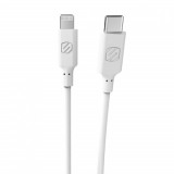 Scosche StrikeLine 48in (4ft) USB-C to Lightning Cable - White