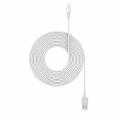 Mophie 3M Apple Lightning Data/Sync/Charge Cable - White