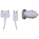 Apple iPhone 4/4s 2.1 amp Dual USB Car Charger
