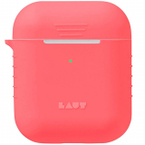 Apple AirPod Laut Slim Protective Pod Neon Case - Electric Coral
