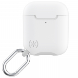 Apple Airpod (Gen 1 & 2) Speck Presidio Pro Series Case w/ Microban - White/Marble