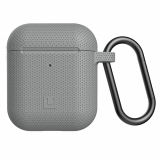 Apple AirPod (Gen 1 & 2) [U] by UAG Silicone Case - Light Grey