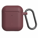 Apple AirPod (Gen 1 & 2) [U] by UAG Silicone Case - Aubergine