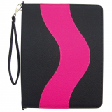 Apple iPad 2/3 Onion Messenger Case -  Black/Hot Pink