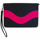 Apple iPad Mini Onion Messenger Case - Black/Hot Pink