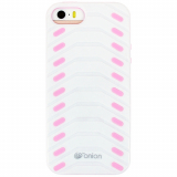 Apple iPhone 5/5s/SE Onion Fishbone Case - White/Light Pink
