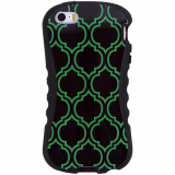 Apple iPhone 5/5s/SE Onion Thin Waist Case - Neon Green Ray