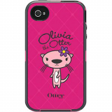 Apple iPhone 4/4s Defender Series OtterBox Case - Olivia Pink