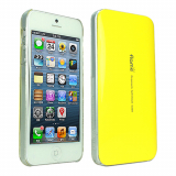Apple iPhone 5/5s/SE VanD Flashing Case - Yellow