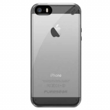 Apple iPhone 5/5s/SE Pure Gear Slim Shell Case - Clear/Black