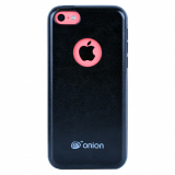 Apple iPhone 5c Onion Leather Case - Black