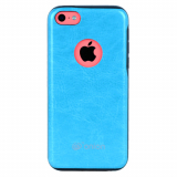Apple iPhone 5c Onion Leather Case - Teal