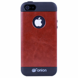 Apple iPhone 5/5s Onion Leather Case - Brown
