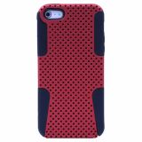 Apple iPhone 5/5s/SE Mesh Case Bulk - Red