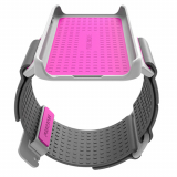 Apple iPhone 5/5s/5c/SE PureGear Puremove Small/Medium Armband - Gray/Pink