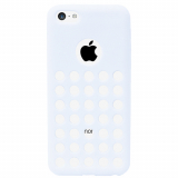 Apple iPhone 5c TekYa Spotz Case - White