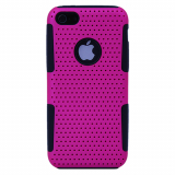 Apple iPhone 5c TekYa Mesh Case - Pink/Black