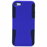 Apple iPhone 5/5s/SE TekYa Mesh Case - Blue/Black