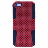 Apple iPhone 5/5s/SE TekYa Mesh Case - Red/Black