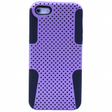 Apple iPhone 5/5s/SE TekYa Mesh Case - Purple/Black