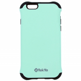 Apple iPhone 6/6s TekYa Capella Series Case - Mint Green/Black