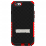 Apple iPhone 6/6s Beyond Cell Tri Shield Case - Black/Red