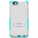 Apple iPhone 6/6s Beyond Cell Tri Shield Case - White/Light Blue