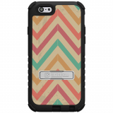 Apple iPhone 6/6s Beyond Cell Tri Shield Case - Pastel Chevron