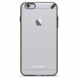 Apple iPhone 6 Plus/6s Plus PureGear SlimShell Case - Clear/Black