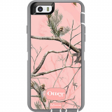 Apple iPhone 6 OtterBox Defender Series Case - Real Tree AP Camo/Pink