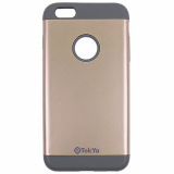 Apple iPhone 6 Plus/6s Plus TekYa Vega Series Case - Gold/Grey