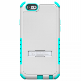 Apple iPhone 6 Plus Beyond Cell Tri Shield Case - White/Light Blue