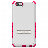Apple iPhone 6 Plus Beyond Cell Tri Shield Case - White/Hot Pink