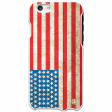 Apple iPhone 6 Plus/6s Plus Ultra Slim Clip On Case - American Flag